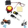 Alarma de Control remoto sistema de seguridad de motocicleta sistema de alarma de Motor Moto Scooter