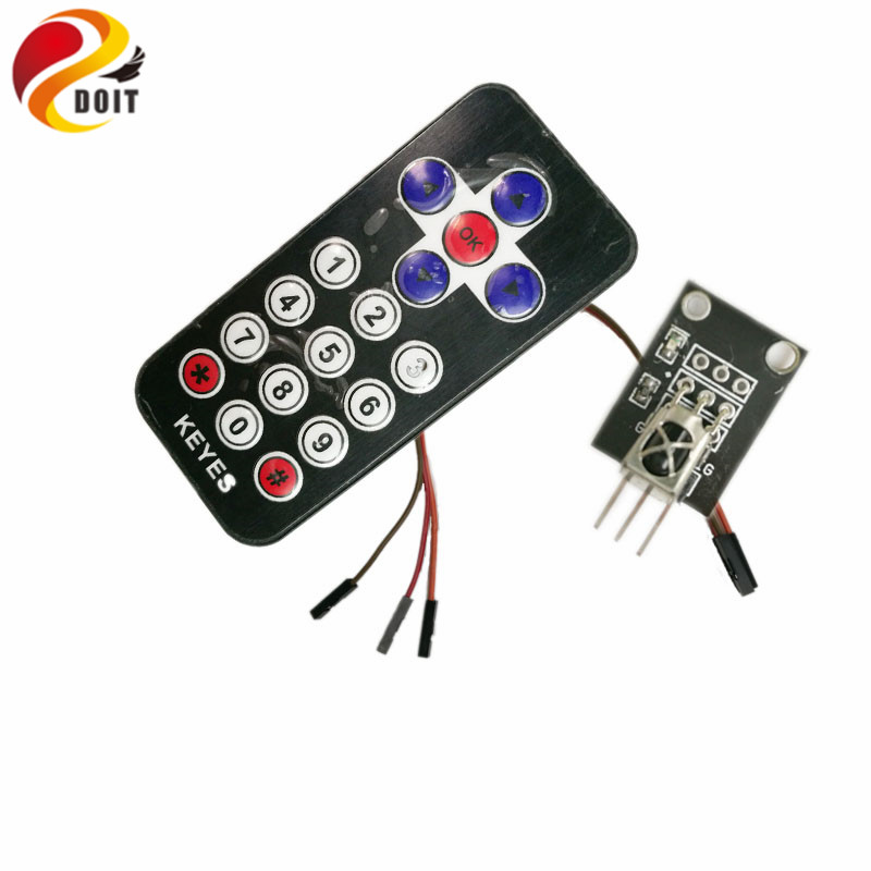 1 Set Infrared Ir Wireless Remote Control Module Kits Diy Kit Hx1838 For Arduino Raspberry Pi Diy Rc Toy Parts Evident Effect