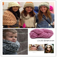 Mix Color Special Coarse Yarn Thick Big Yarn For Hat Scarf Thick Knitting Diy Super Big