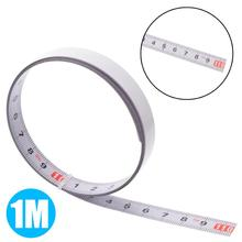 Mayitr Self Adhesive Miter Saw Track Tape Measure Backing Metric Steel Ruler Measurements  1/2/3/5M