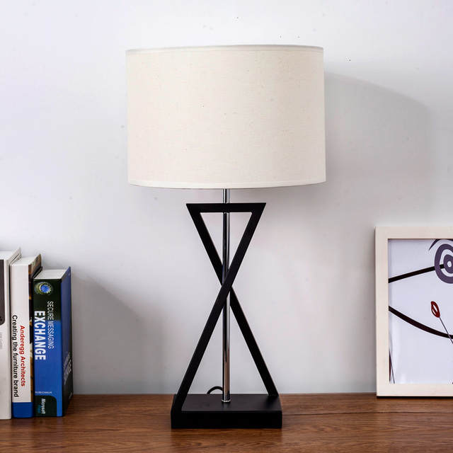 Personality hotel room american bedroom bedside table lamp nordic creative modern minimalist studytable lights