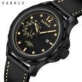 44 мм Мужские часы Лидирующий бренд роскошные механические часы светящиеся 100 м водонепроницаемые часы Мужские Подарочные Parnis автоматическ...