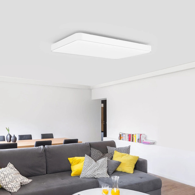 New In Stock Xiaomi Yeelight Simple LED Ceiling Light Pro Dustproof Bluetooth/Wifi/App Remote control Big Ceiling Lamp