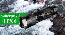 Waterproof Mini LED Flashlight penlight CREE Q5 2000LM Laterna 3 Mode Zoomable Portable Camping Hiking Torch Flashlight AA 14500