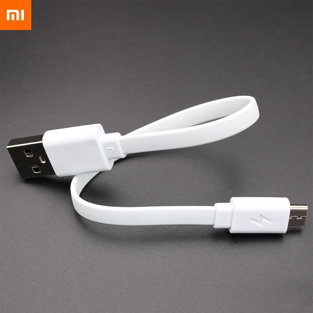 Original 22CM Micro USB Fast Charging Data Cable For XIAOMI MI Powerbank Cable For Mi 3 3s 4 Redmi Note 3 Pro 4 4X 4A