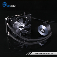 BYKSKI BY INR WCOL Cooler Integrated Desktop CPU Water Cooled Radiator Water Cooling Radiator