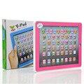 Brinquedos Y-Pad Máquina de Aprendizagem das Crianças Mini Inglês Aprendizagem de Máquina Tablet Máquina de Aprendizagem de Línguas Estrangeiras