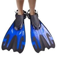 1Pair TOPIS Taiwan Brand Professional Scuba Diving Fins Adjustable Long Snorkel Swimming Fins Flippers Equipment Set Monofin