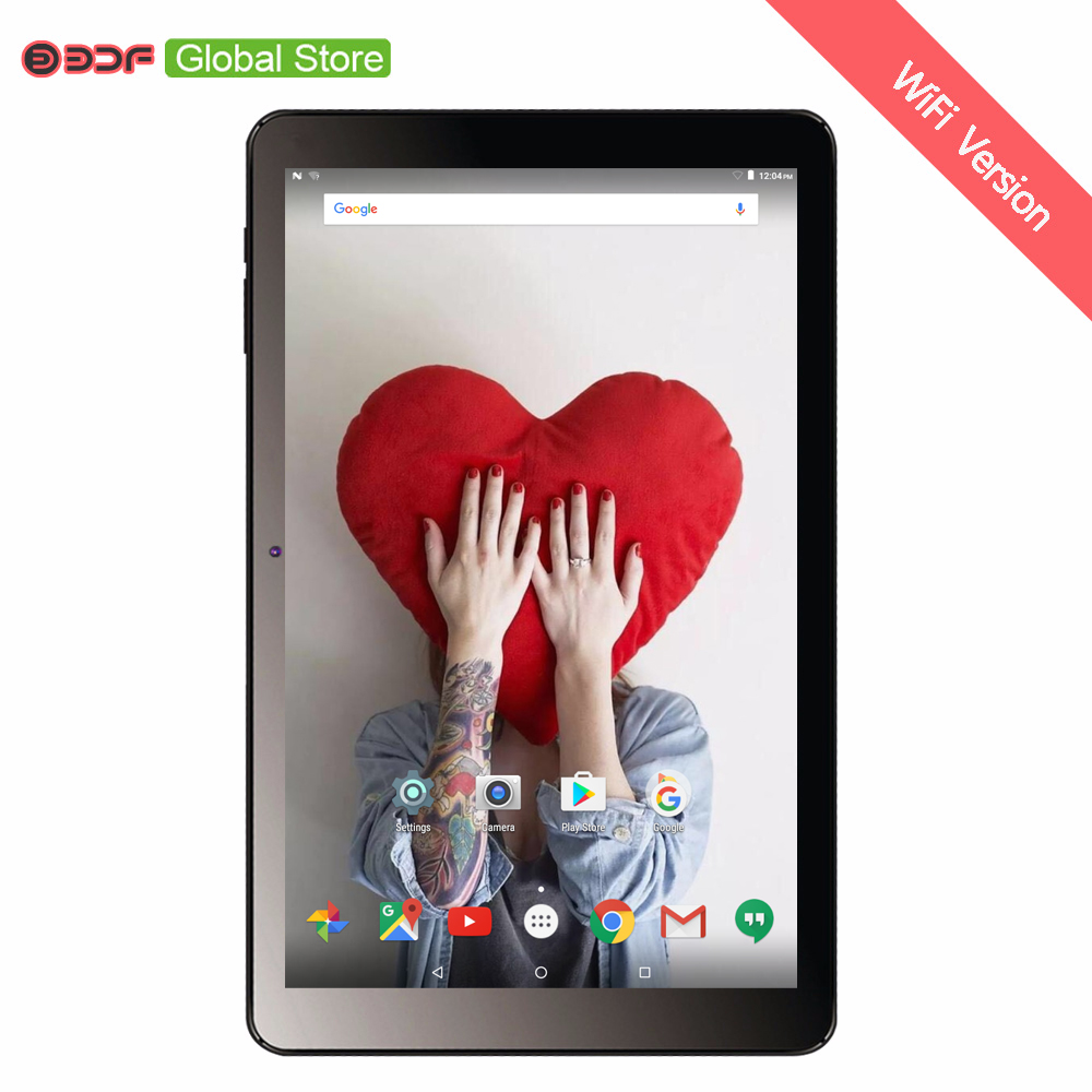 BDF New Android 7.0 tablets pc 10.1 Inch 1GB +32GB IPS LCD Quad Core  6000Mah Battery Wifi Bluetooth Nice Design Tablets 10 9-in Tablets from Computer & Office