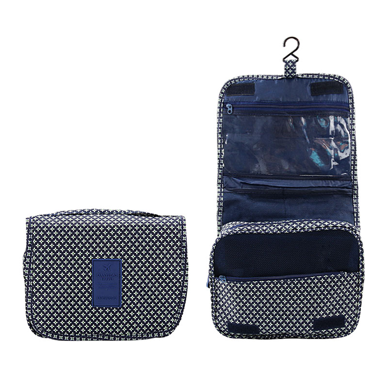 6e16518ec755 DINIWELL Hanging Toiletry Kit Nylon Zipper Travel Storage Bag For Cosmetic  Carry Toiletry Mesh Pockets Makeup Tools Organizer