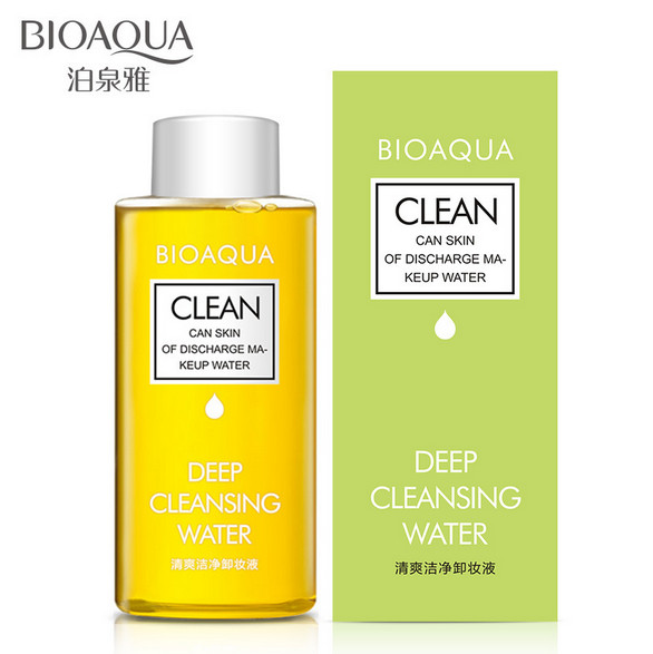 Olive Deep Cleansing Water Intensive Purify Makeup Remover Oil Soft for Eyes Lips Natural Mild Clean for Face Make up