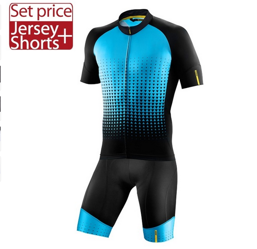 Mavic 2017 Cycling Jersey Summer Team Short Sleeves Cycling Set Bike Clothing Ropa Ciclismo Cycling Clothing Sports Shorts New