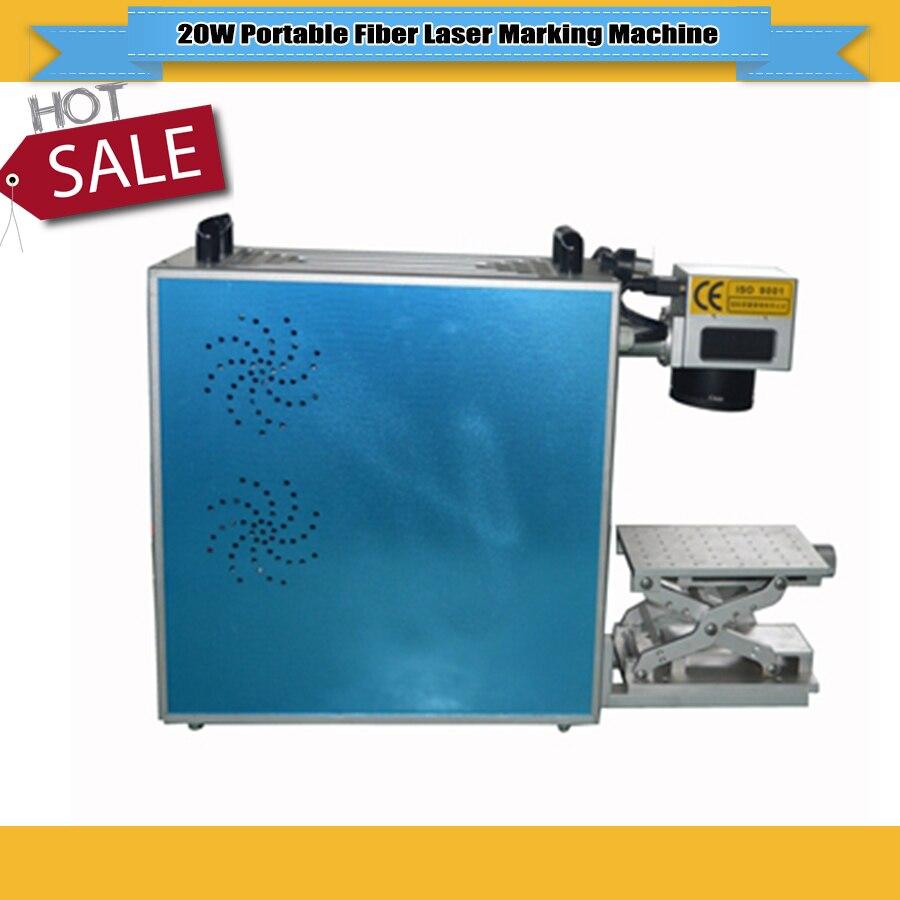 Fiber Laser Engarver 20W Fiber Laser Marking Machine Used For Phone Watch Camera Stainless Steel Marking For Sale