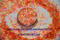 A Mix 2 5 MM Neon Color Solvent Resistant Glitter STAR Shape Glitter For Nail Polish