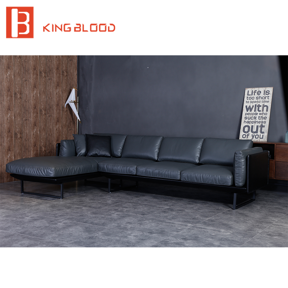 Exceptional Modern Sectional Genuine Nappa Soft Leather Sofa Furniture  In Living Room  Sofas From Furniture On Aliexpress.com   Alibaba Group