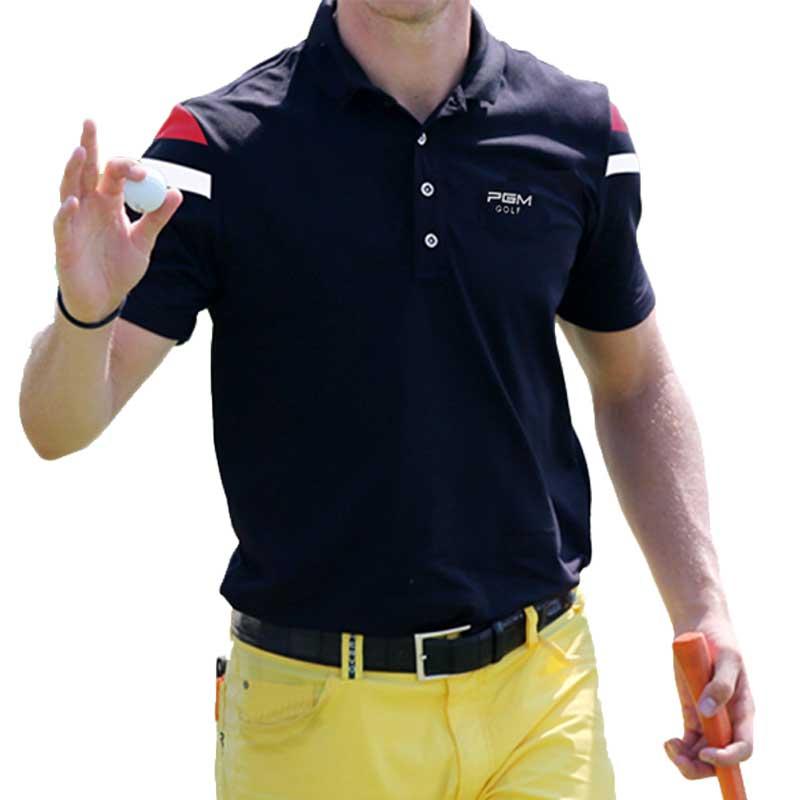 Golf Polo Shirts Men Short Sleeve Training T-shirt Men Fitness T Shirt Summer Polo Tshirt Free Shipping