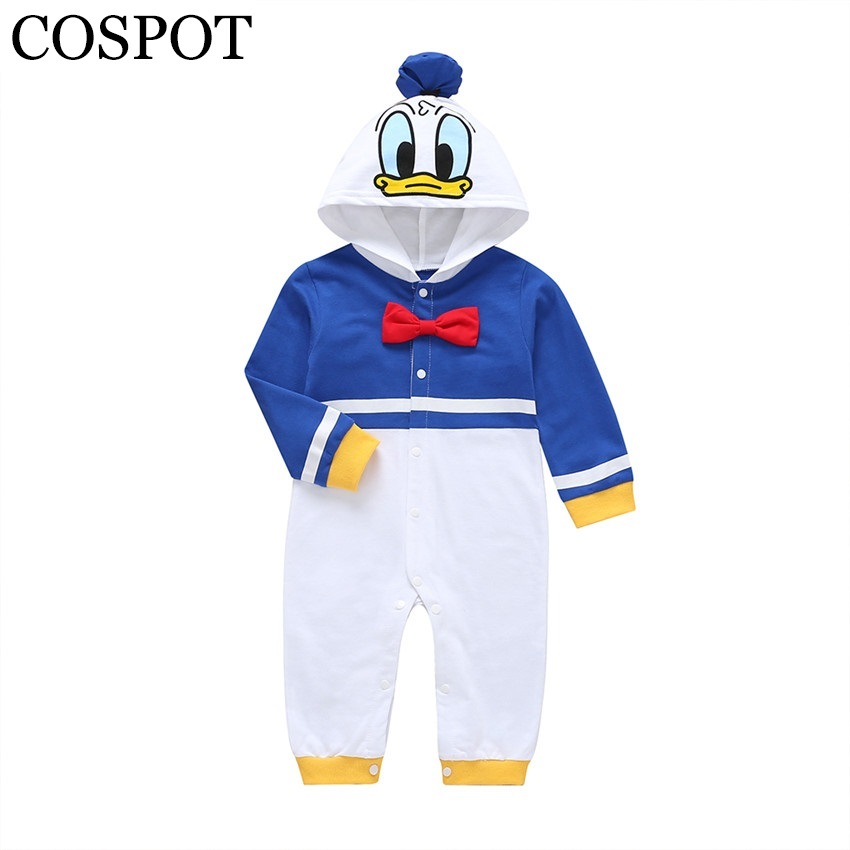 COSPOT Donald Duck Jumpsuit Cosplay For Baby Boy Halloween Christmas Fancy Clothes Halloween Pirate Costume For Kids Children 25