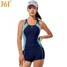 361 Female Swimsuit Two-Piece Suits Sports Tankini Women Swimwear Girls Swim Wear Beach Surfing 2 Pieces Swimming Suit