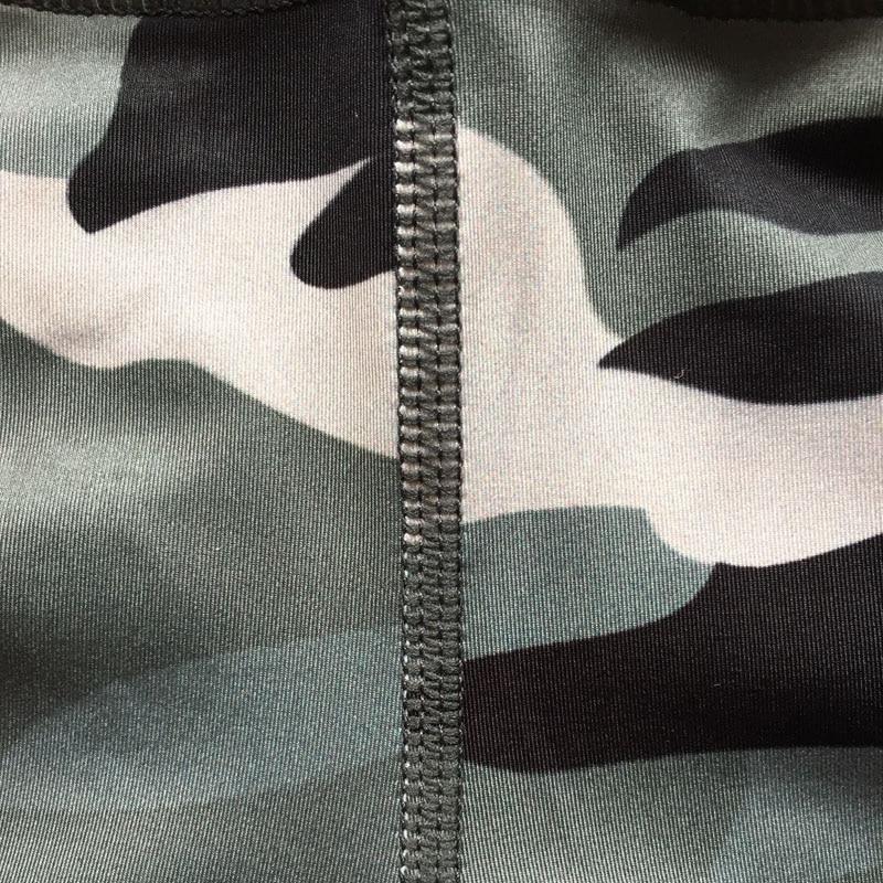 Ny Camouflage Print Kvinder Sporting Leggings High Elastic Workout - Dametøj - Foto 6