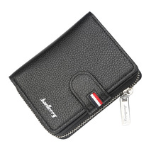 High Quality Pu Leather Wallet Samll Men Wallets Brand Coins Purse Red PU Card Holder Unisex