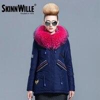 Skinnwille 2016 Winter Coat Women Ultra Light Down Winter Down Jacket Women Short Women Hooded Warm