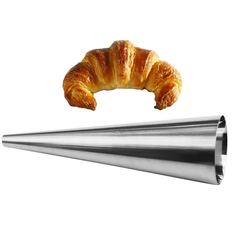Beautiful Stainless Steel Spiral Baked Croissants Diy Essential Horn Baking Cake Mold Customers First Baking Accs. & Cake Decorating