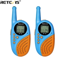 2pcs Retevis RT35 Kids Radio Walkie Talkie UHF 0.5W License free Rechargeable USB Charge for VOX Two Way Radio A9120