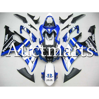 White Blue Fairings For 2008 2016 Yamaha YZF 600 R6 Bodywork High Quality Injection 2013 2014 2015 2010 Motorcycle Cowlings