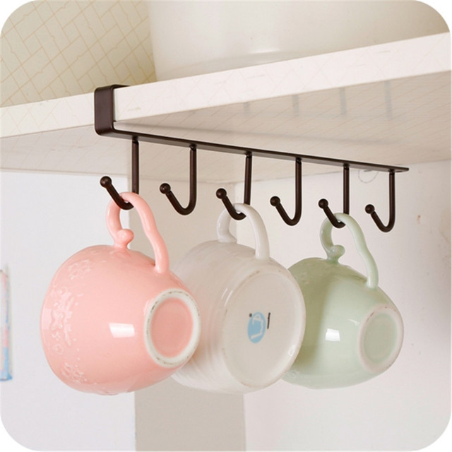 durable 1pcs kitchen cupboard storage rack bathroom towel holder
