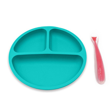ChildrenS Plate Silicone Bowl Baby Infant Tableware Fall Creative