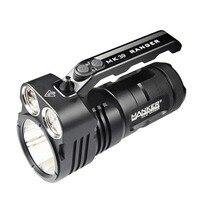Manker MK39 Ranger 6000 Lumens CREE XHP35 HI + 8x CREE XHPG3 / 8x Nichia 219C LED Flashlight Searchlight