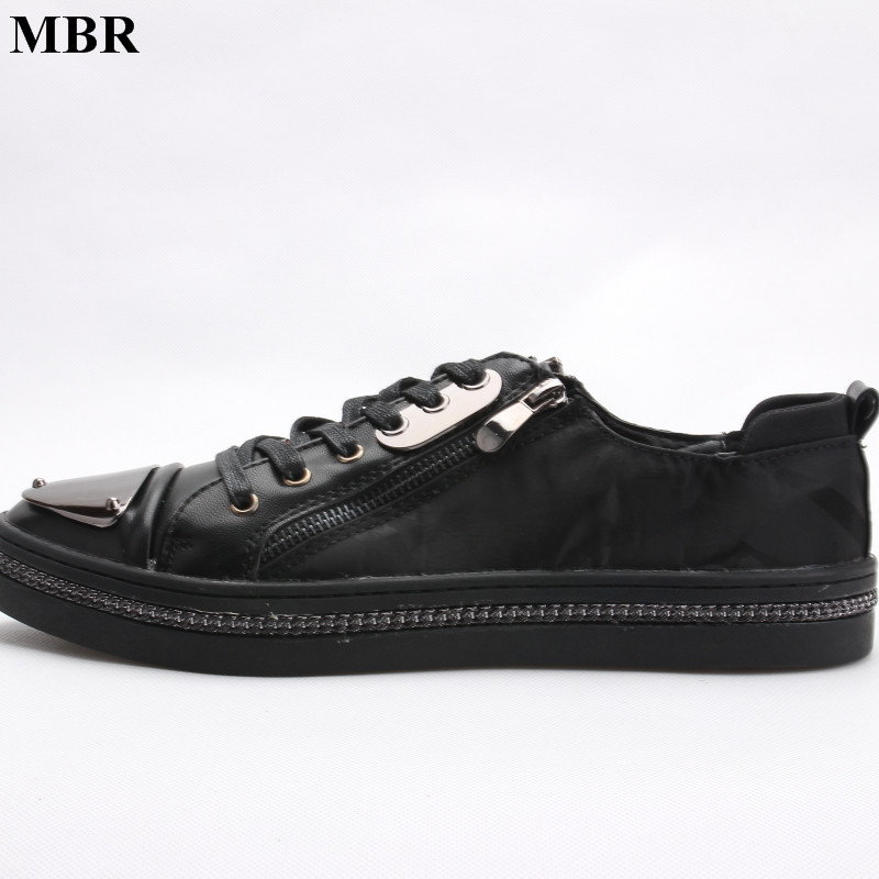MBR 2017 New Genuine Leather Men Loubuten Shoes Zapatillas Superstar Casual Low Top Men Loafers Shoes Round Toe Flats Size 38-44 italy brand golden goose superstar shoes men woman low cut shoes genuine leather white ggdb shoes scarpe uomo di marca casual