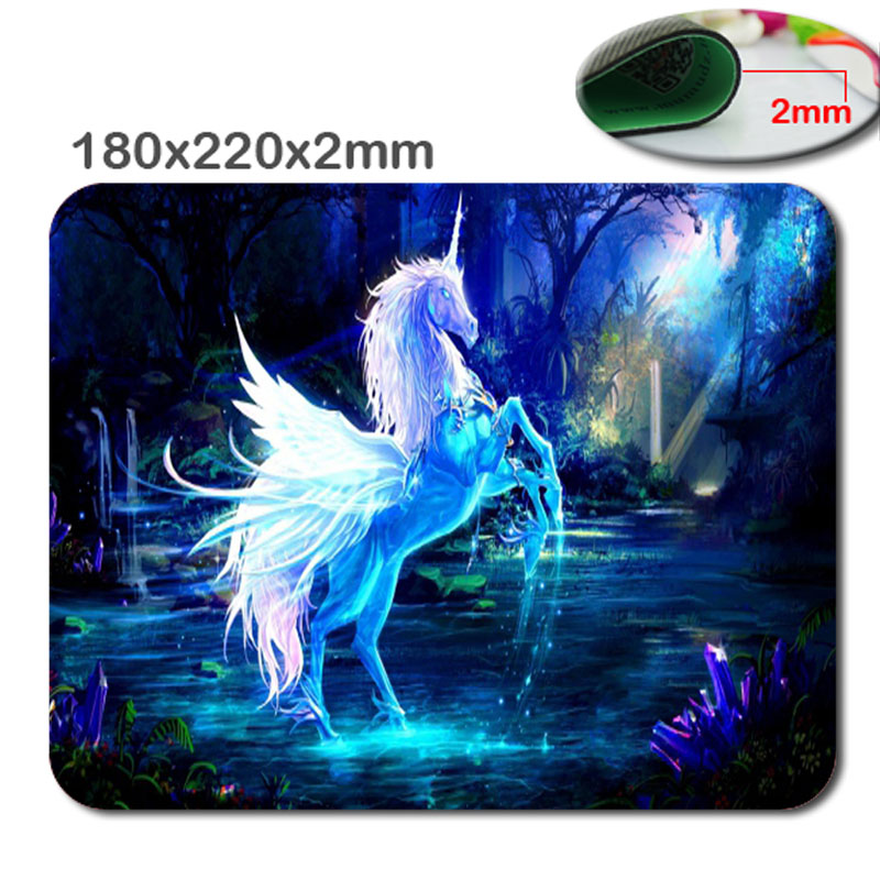 New Arrival Top Selling Print Customized Horser Notebook Rubber Computer Gaming Mouse Pad Gamer Play Mats