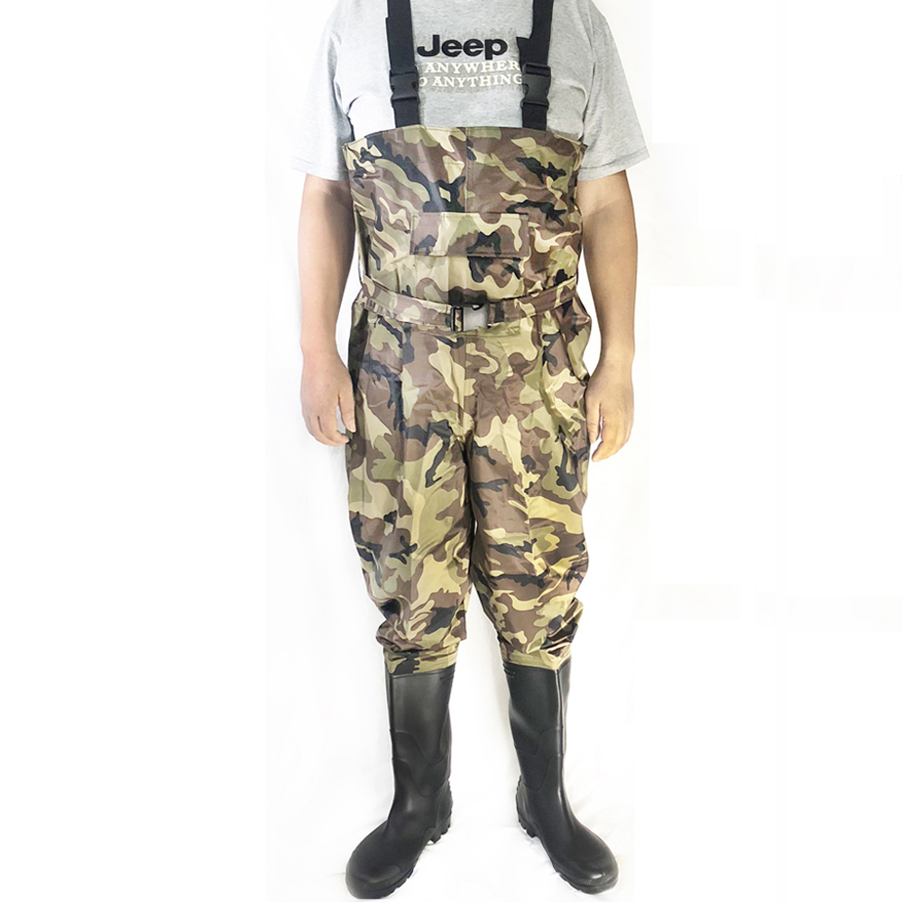 Hunting Waterproof Chest Waders With Boots