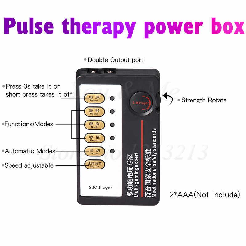 Электрический шок Вагина шариковый массажер электрошок G-spot клиторальный анальный стимулятор-пробка не Анальный вибратор секс-игрушки для женщин мужчин