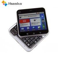 MB511 original Unlocked Rotatable Motorola MB511 Android OS GPS WIFI 2.8 3.0MP GSM Mobile Phone Free shipping