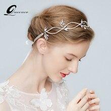 Фотография Silver Crystal Tiara Bridal Headband Wedding Hair Accessories Bridal Headpiece Handmade Ornaments Hairbands Hair Jewelry