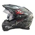 Горячая распродажа THH шлемы мотокросс внедорожных шлем каско мото гонки мотоциклетных шлемов пункт motocicleta полный шлем лобовое стекло