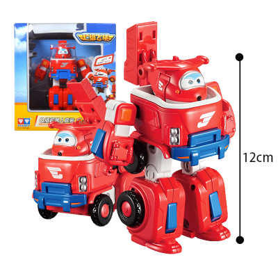 Hot sale 4 styles Super Wings toys Mini Planes Model Transformation Airplane Robot Action Figures Boys Birthday Gift Brinquedos
