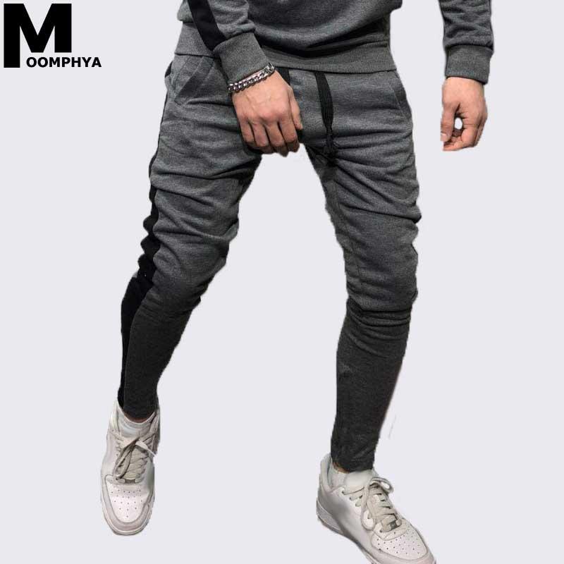 Aliexpress.com : Buy Moomphya Stylish side stripe pants