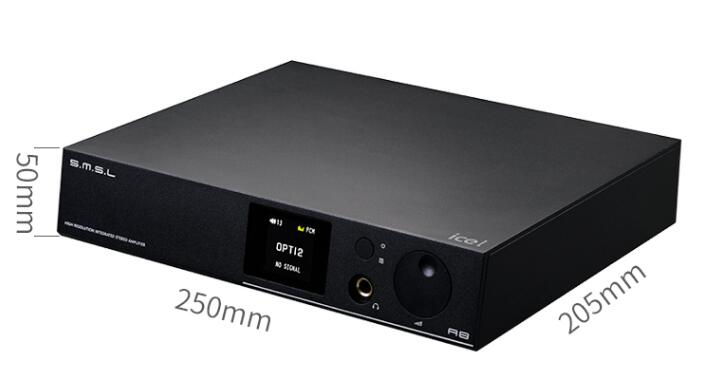 SMSL A8 125Wx2 HIFI Audio Digital Power Amp/DAC/Headphone Amp ICEpower Module AK4490 DAC PCM 768khz DSD512 TPA6120 All In One