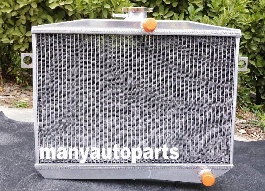 3 Row Aluminum Radiator for Volvo Amazon P1800 B18 B20 GT 1959-1970 Manual