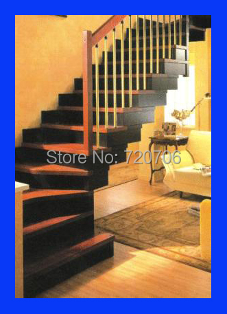Custom Modern Staircase Spiral Curve And Straight Stairs Staircase With  Glass Railing On Aliexpress.com | Alibaba Group