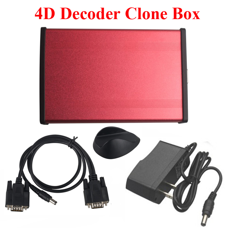 Red 4D Decoder Clone Box for Quickly 4C/4D/46/48 AD900 CN900 & TRS5000 Key Programmer