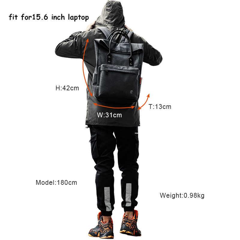 """Корейский стиль мужской женский рюкзак для 15,6 """"Ноутбук большой емкости USB зарядка водостойкий мужской рюкзак для девочек feminina Hombre"""
