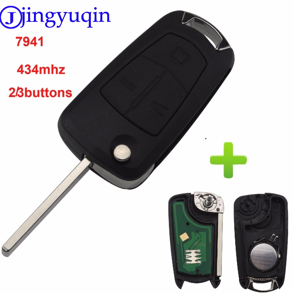 Automobiles & Motorcycles Jingyuqin Car Flip Remote Key Fob 2/3 Button Ask 434mhz Pcf7941 For Vauxhall Opel Astra H 2004 2005 2006 2007 2008 2009 Zafira B Do You Want To Buy Some Chinese Native Produce?