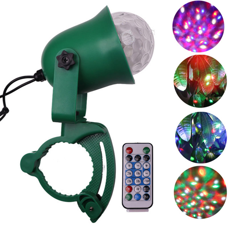 Outdoor Holiday Laser Projector Lamp Waterproof LED Lawn Light Tree Night Lights Firefly Effect Christmas New Year Decorative