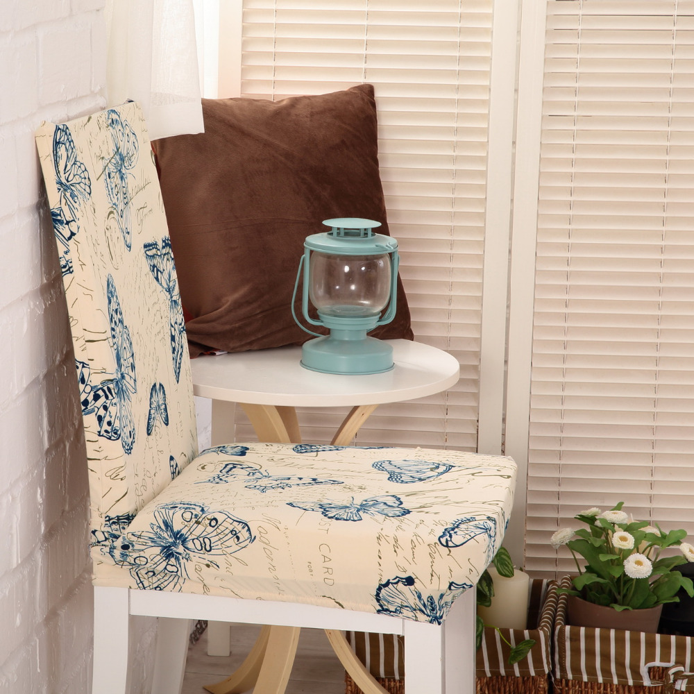 Chair Covers For Home. New Floral Print Butterfly Chair Cover Home Dining  Covers Multifunctional Spandex