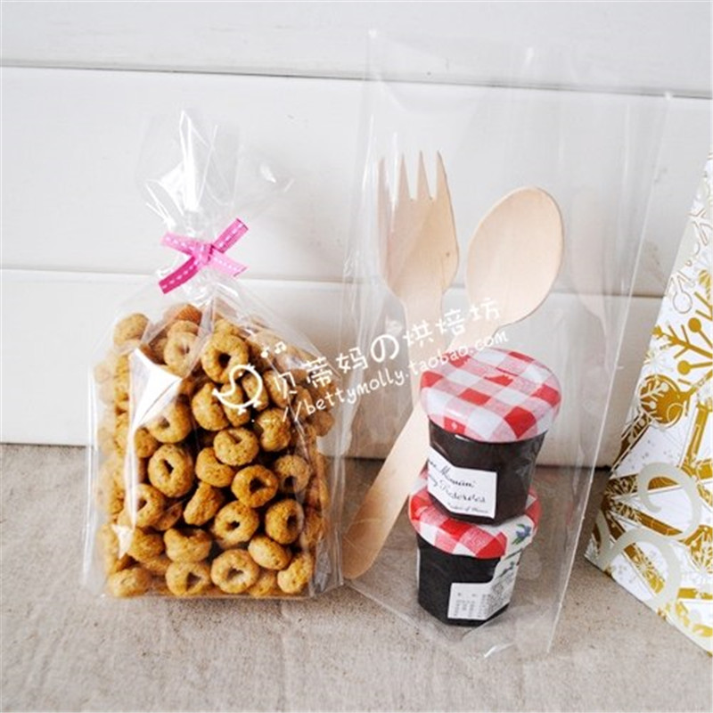 Us 7 7 50 Off 100 Pcs Lot Clear Lollipops Cake Cellophane Bag Christmas Cookies Bag Bakery Gifts Packing 12 19cm 4 Free Shipping In Gift Bags
