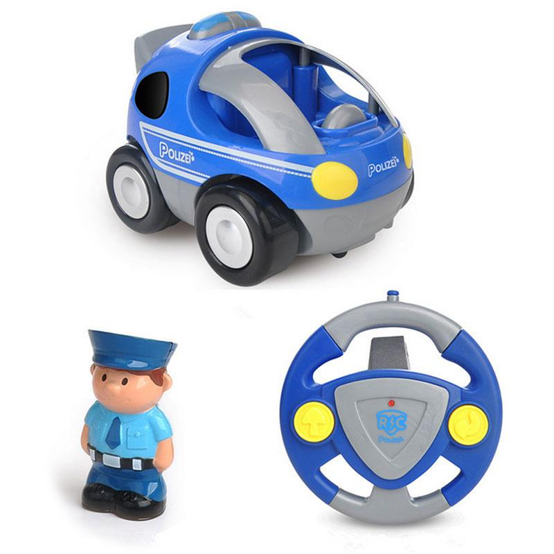 Children's Electric Music Light Cartoon Remote Control Car Rc Car Toys Gifts For Boys Kids